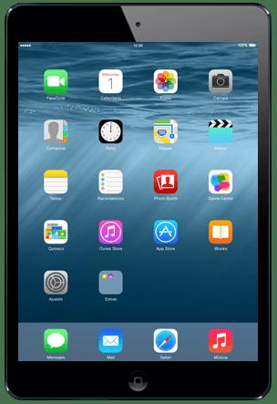 Apple iPad mini Retina iOS 8