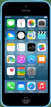 Apple iPhone 5 C iOS 8