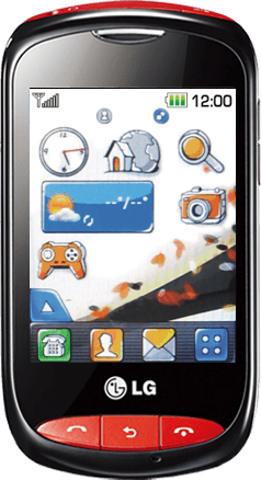 LG T310 Cookie Style